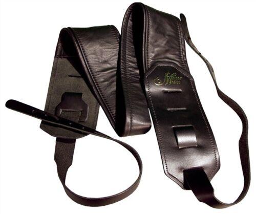 Morgan Monroe MB-1 Deluxe Leather Padded Banjo Strap