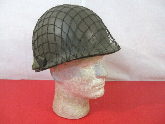 with draw string WWII TYPE NET COVER FOR U.S M1 STEEL POT HELMET cover only