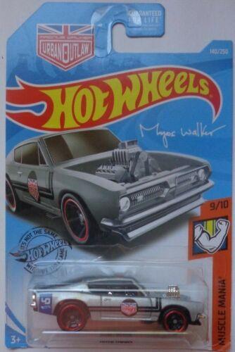 2019 Hot Wheels MUSCLE MANIA 9//10 King Kuda 140//250 Silver Version