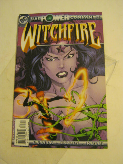 March 2002 DC Comics The Power Company, Witchfire #1 <NM> (EB4-20)