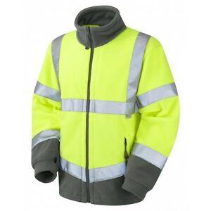 Leo Hartland Class Workwear Fleece Yellow Jacket 3 r18rwq