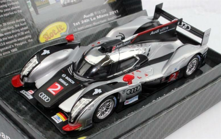 Slot  Audi R18 TDI Le Mans 2011 Winner Slot Car