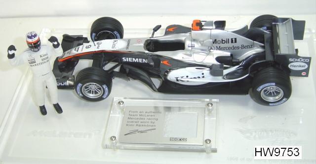 McLaren F1 Kimi riaikkonen driver's Edition 1 18 Hot Wheels par HOT WHEELS