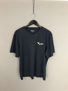 BARBOUR-T-Shirt-XXL-Navy-Great-Condition-Men-s