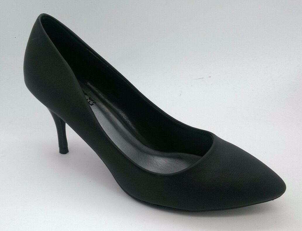 Ladies shoes No shoes Birdie Black Pump Heels Work Stiletto shoes Size 5-11 NEW