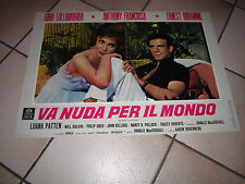VA NUDA PER IL MONDO  Lollobrigida 1961 Go Naked in the World
