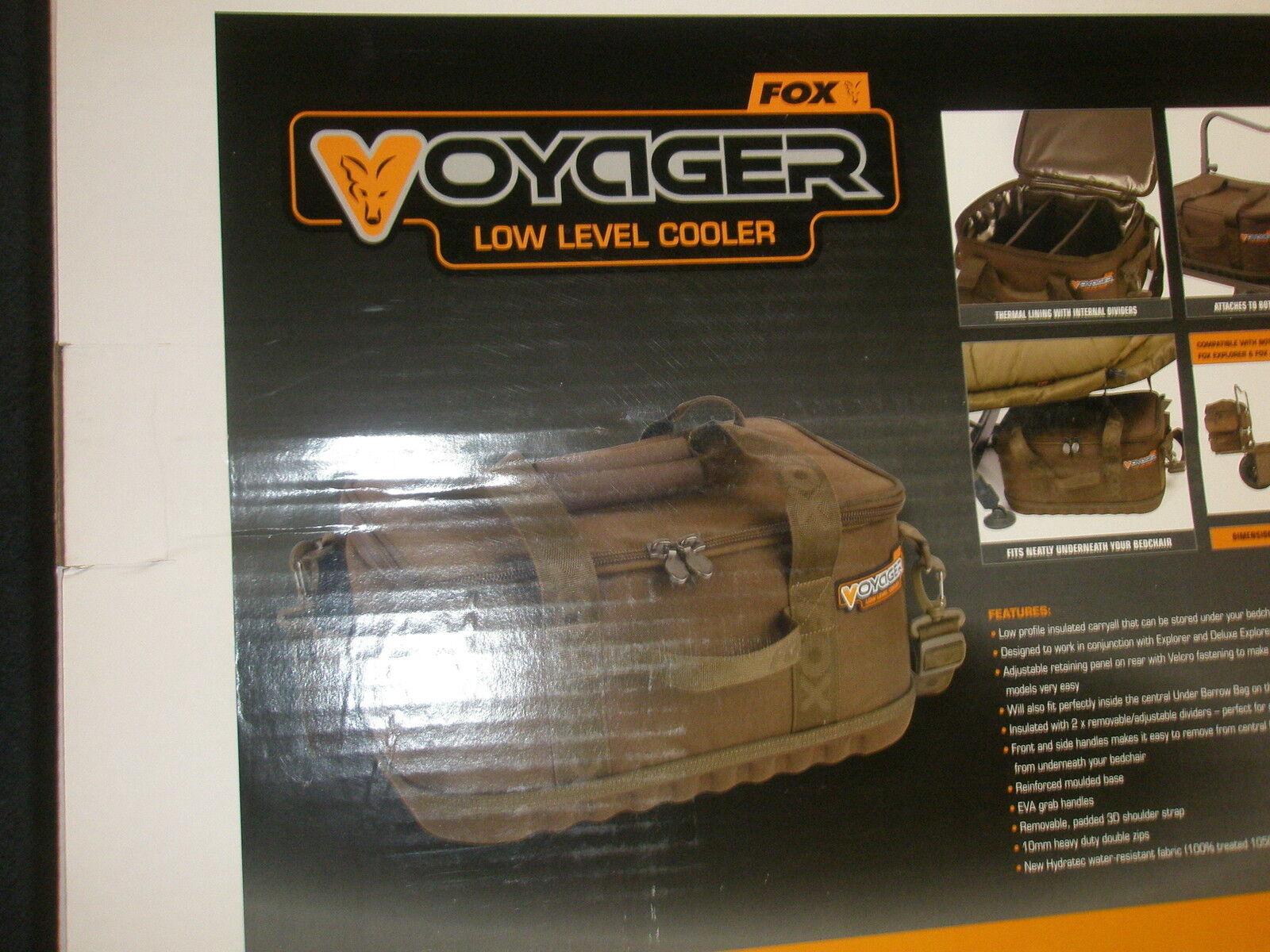 FOX VOYAGER basso livello Cooler borsa autop pesca Tackle