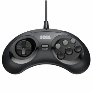 Retro-Bit-Official-SEGA-Genesis-6-Button-Arcade-Pad-Controller-Black