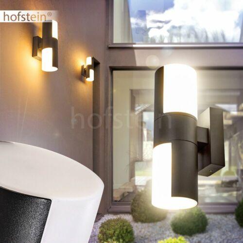 LED Vialetto Cortile illuminazione da giardino antracite muro esterno LAMPADE CASA PORTA LAMPADA
