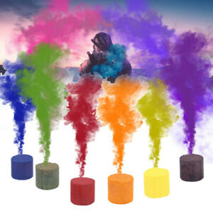 3x-Photography-Aid-Props-Smoke-Cake-Colorful-Effect-Show-Round-Bomb-Stage-Tools