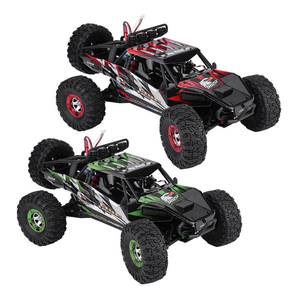 Keliwow FY-07 2.4GHz 1 12 escala 4WD de alta velocidad sin escobillas Rc Coche Crawler Off-Road