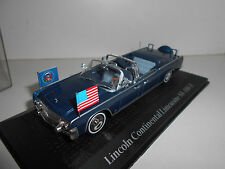 LINCOLN CONTINENTAL LIMOUSINE SS-100-X PRESIDENTIAL CARS NOREV ATLAS 1:43