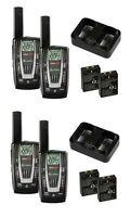4 Pair Cobra Cxr725 22 Channel Frs/gmrs Walkie Talkie 2-way Radios + 8 Headsets on sale