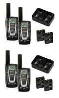 4 Pair Cobra Cxr725 22 Channel Frs/gmrs Walkie Talkie 2-way Radios + 8 Headsets on sale