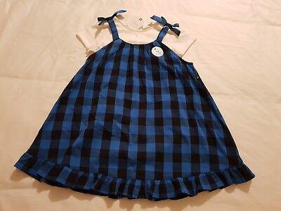 Amichevole Ragazza 2 Pezzi Set Vestito Bimba Dress & Top/tee Prossimo Età 3-4 Anni Nuovo Di Zecca-mostra Il Titolo Originale