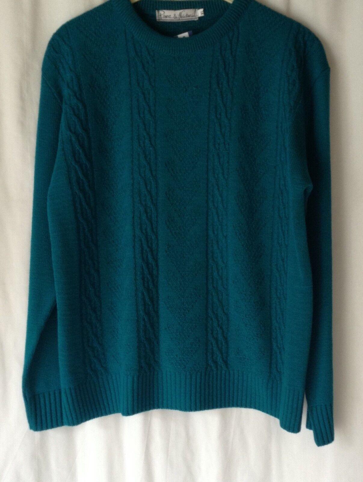 Nouveau encolure Femme Acrylique à encolure Nouveau ras-du-cou Pull à manches longues * 14 couleurs * Tailles 10-16 6dcaef