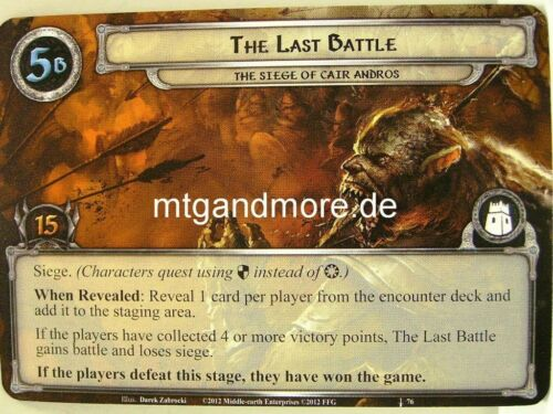 1x The Last Battle #076 Heirs of Numenor Lord of the Rings LCG
