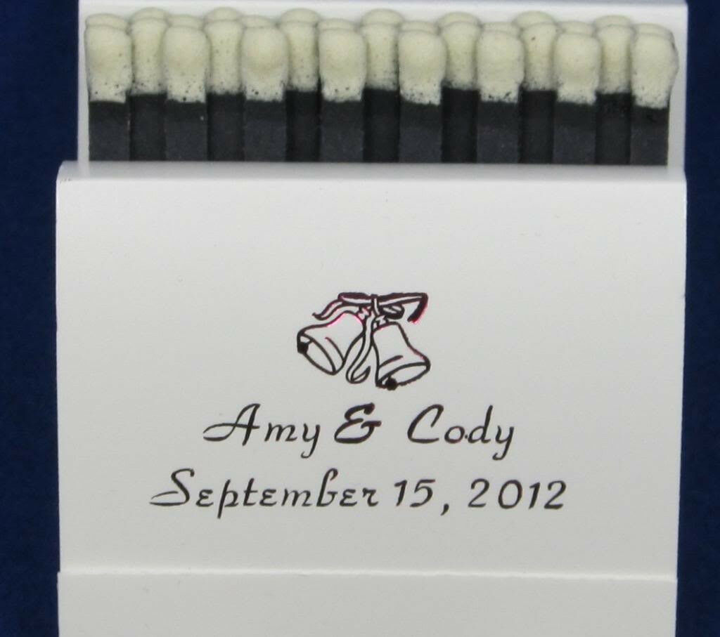 325 PERSONALIZED MATCHBOOKS WEDDING FAVOR BRIDAL SHOWER birthday party favors