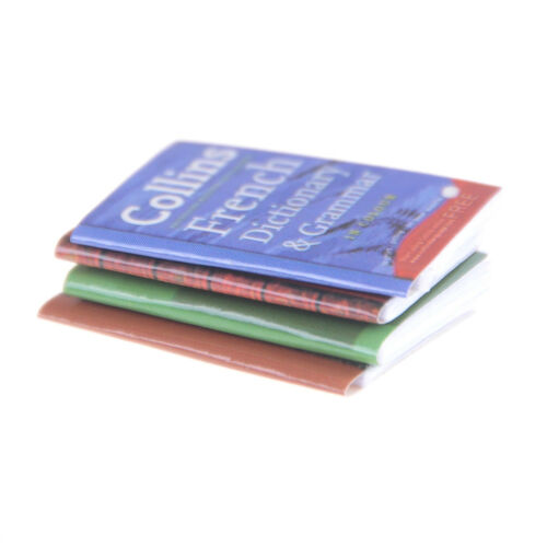 1pc Dollhouse Miniature Mini Book Paper Notebook Magazine Home Decor Gift/&