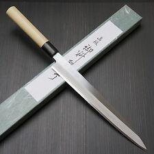 Japanese Tojiro Shirogami Steel Sushi Sashimi Yanagiba Knife 270mm F-909 Japan