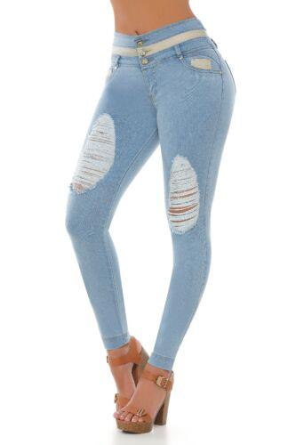 Colombian Shapewear Cola Colombian Butt Pompi Jeans 1160 Lifter rWwqpnrxO