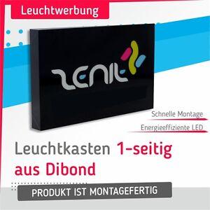 Leuchtkasten aus Dibond 1-seitig 500x100cm LED Leuchtreklame Digitaldruck! - Deutschland - Rücknahmen akzeptiert - Deutschland