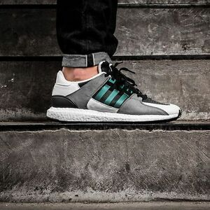 Details about Adidas EQT Support 93/16 Black/White/Green S79111 ( All Size ) Vintage Boost ADV