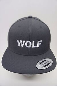 1e6c499ae Details about WOLF Gang Tyler The Creator Snapback Hat