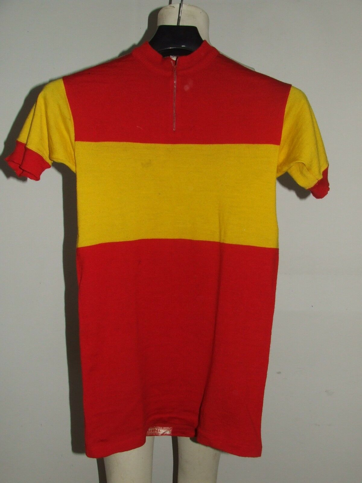 Bike Jersey Shirt  Maillot, Yonne Cycling Heroic Vintage 70's Spain Sergal 100% Wool  save 60% discount and fast shipping worldwide