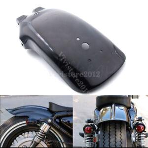 A-Motorcycle-Black-Rear-Fender-Mudguard-For-Yamaha-Suzuki-DR650-Honda-CB-500F