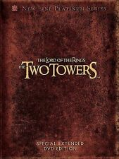 The Lord of the Rings: The Two Towers (DVD, 2003, 4-Disc Set, Platinum Series Special Extended Edition)