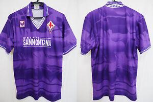 1994-1995 ACF Fiorentina Jersey Shirt Maglia Home Gelati ...