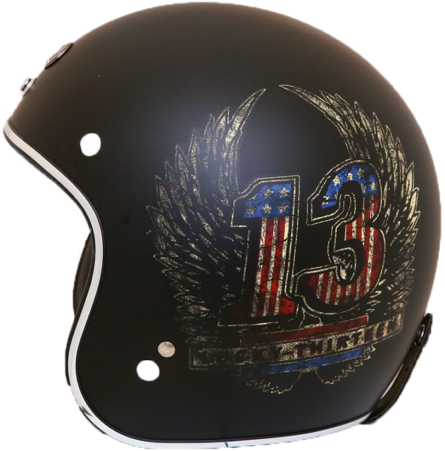 Exceptional Quality 3 Vinyl Motorcycle HELMET Sticker DECAL ROUTE 66
