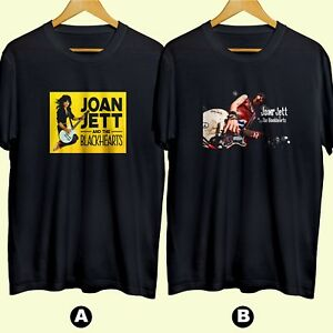 Joan Jett and The Blackhearts Rock Music T-Shirt Funny Cotton Tee Gift Men