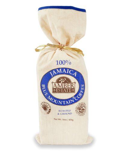454g 16 OZ Giamaica 100/% Blu-Mountain-caffè-Amber ESTATE-Caffè macinato