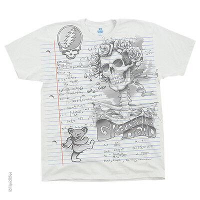 New GRATEFUL DEAD Sketch T Shirt