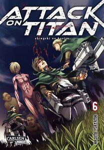 Attack On Titan 6-allemand-willard Manga-article Neuf-afficher Le Titre D'origine Le Prix Reste Stable