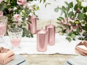 Rose-Gold-Candle-Happy-Birthday-Party-Long-Cake-Topper-Engaged-Wedding-Pillar-1