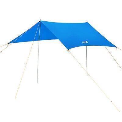 Camping Waterproof Sunshade Essential Rain Fly Tent Canopy Tarp Outdoor    !P