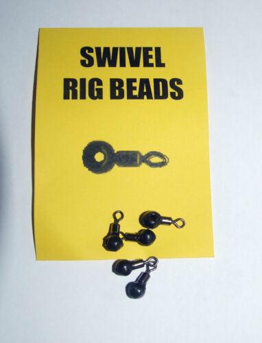 Swivel Rig Beads Carp Coarse Fishing Pack of 5