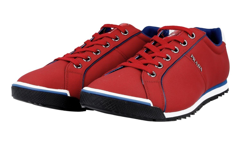 shoes PRADA LUSSO 4E2719 SCARLATTO NUOVE 6 40 40,5