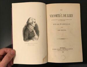 1867-Le-Vicomte-C-de-LERY-Precis-d-039-histoire-du-Canada-avec-gravures