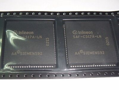 1PC PLCC-84,8-bit CMOS MICROCONTROLLER SAF-C517A-LN