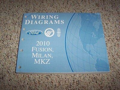 2010 Mercury Milan Electrical Wiring Diagram Manual Premier 2.5L 3.0L V6  4Cyl | eBayeBay