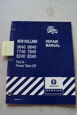 New Holland 5660 To 8340 Tractor Repair Manual Part 6 Power Take Off