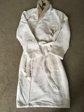 LOUIS VUITTON NEW UNISEX BEAUTIFUL WHITE BROWN BATHROBE RRP £995