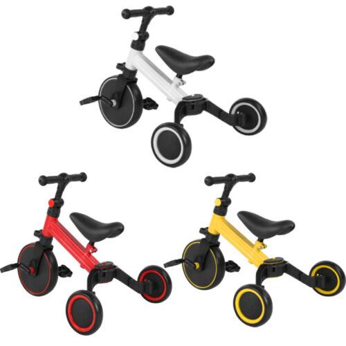 2in1 Lauflernrad Dreirad Laufrad Kinderlaufrad Baby Rutscher Trike 3 Farbe NEU