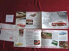 N°4888 /  dépliant automobile PANHARD PL.17 + prospectus