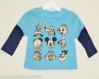 Disney Classic Character Faces Infant/toddler T-shirt (available Sizes: 12m-5t)