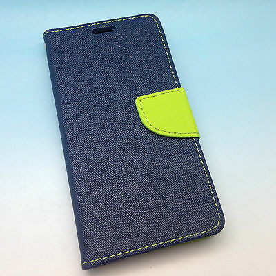 Google LG Nexus 5X High Quality Leather Flip Wallet Case with Credit Card Slots